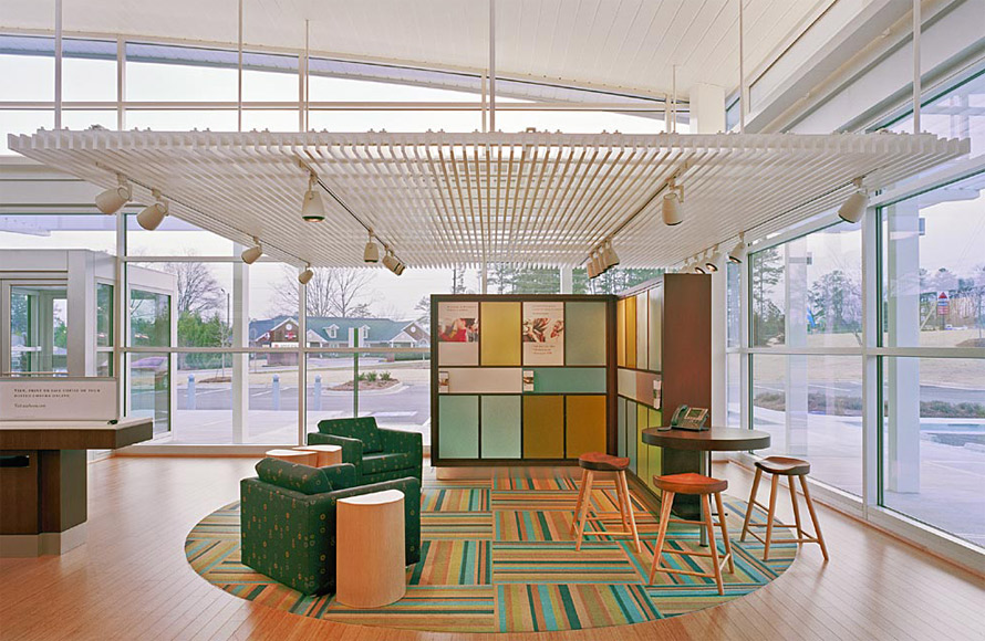 Carpet bank installation milliken oxygen