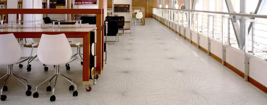 Milliken carpet for education classroom library
