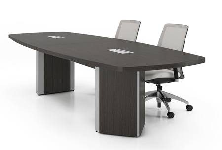 Artopex laminate conference table with power data management