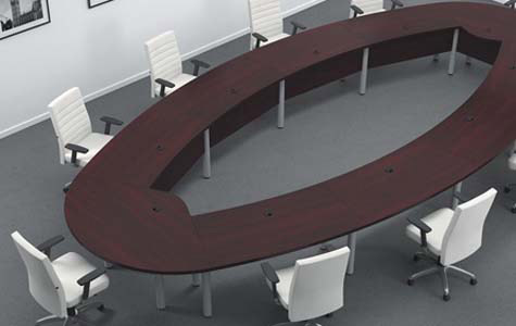 Oval conference table Artopex