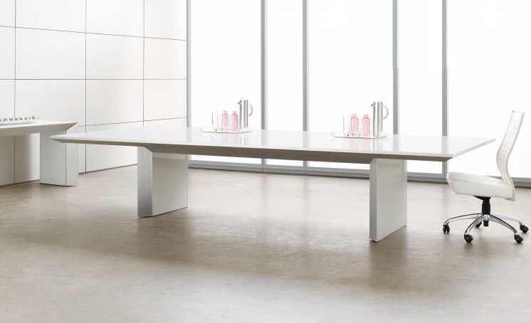 Tavola series contemporary conference table - Nucraft