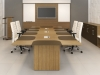 Artopex Essentia series wood veneer conference table