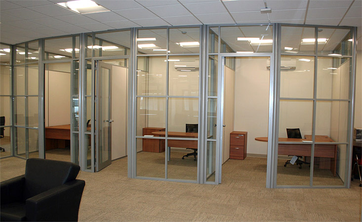 Demountable Glass Wall Private Offices By NxtWall