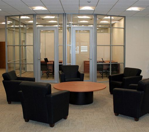 NxtWall Flex series office wall system