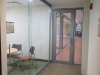 Nxtwall glass meeting room with sliding door view series