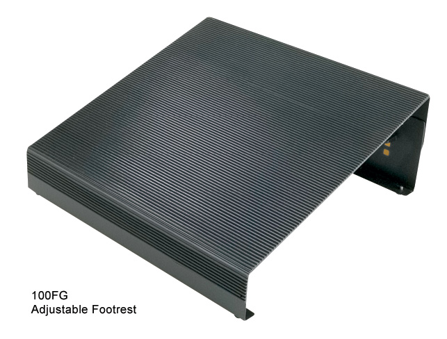 Adjustable footrest rightangle products