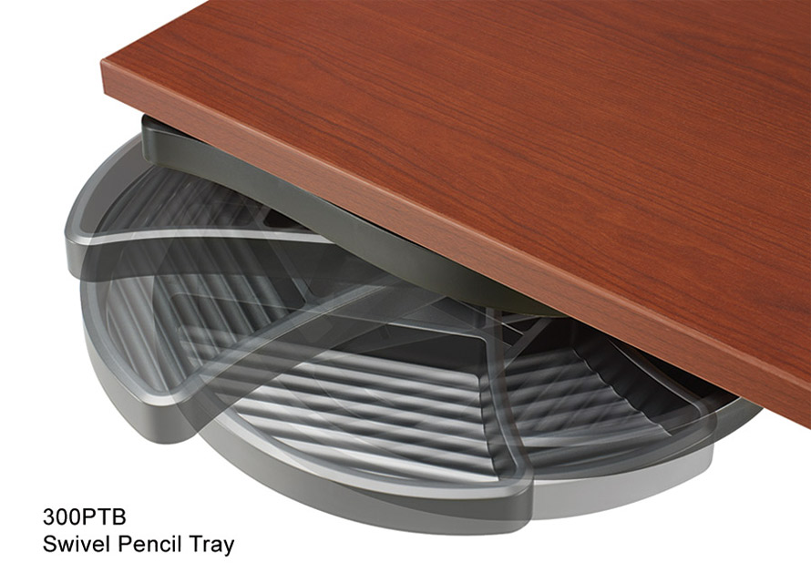 Swivel pencil drawer accessory Rightangle