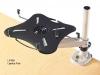 Laptop fan desk platform holder Rightangle products