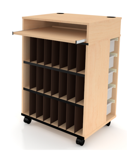 Mobile teaching cabinet furniture Fleetwood