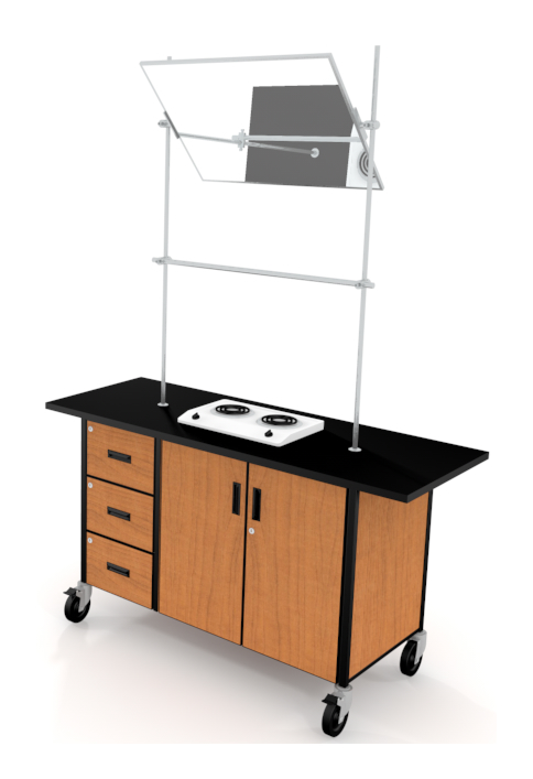 Mobile science lab station Educational furniture fleetwood