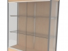 Display case full width shelving Fleetwood