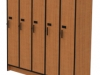 Laminate customizable school/gym lockers by Fleetwood