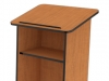 Lectern with closed top laminate or wood Fleetwood