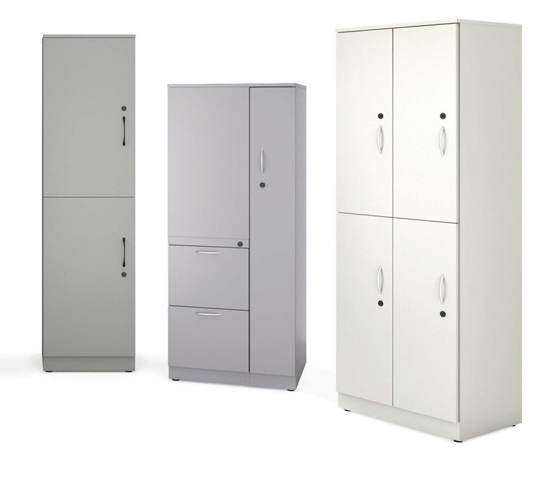 Metal storage cabinets - Great Openings Trace series