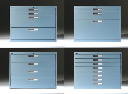 Artopex custom filing cabinets ideal for Blueprint and Plan drawings
