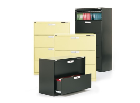 Metal lateral files by Artopex - 2, 3, 4, and 5 high drawer lateral files available
