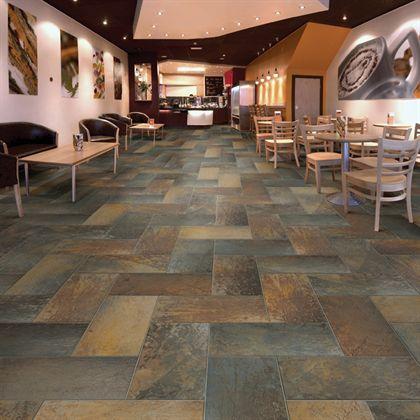 Porcelain flooring Mannington