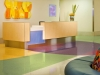 Linoleum multicolor flooring by Armstrong