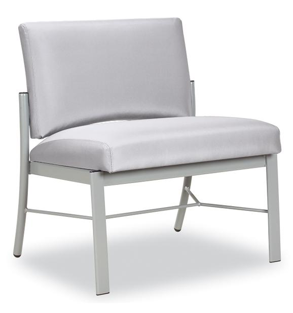 Paola armless bariatic chair