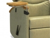 Swivel side tablet healthcare chair accessory - IOA