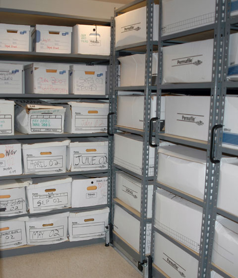 Archival and records storage high density solution