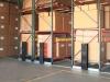 Movable warehouse rack storage high density storage solution