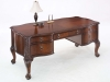 Wood writing desk home office dmi balmoor