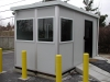 Outdoor guard toll booth office with external security camera by Inplant offices