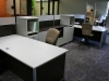 Group Lacasse - Concept 3 series two person laminate workstations