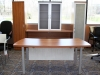 Groupe Lacasse - Morpheo contemporary laminate office desk suite 623