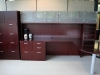 Indiana Furniture - Centennial series anigre wood veneer executive office suite