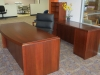 Indiana Furniture - Impel wood veneer desk suite 541
