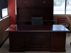 Paoli - Coronado wood cherry veneer executive traditional office desk suite 545