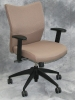 9 to 5 Seating - Bristol desk chair with champagne fabric #472