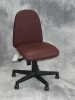 Indiana Furniture - Avia armless maroon vinyl chair #482
