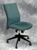 United Chair - Freestyle armless high back chair etch gulf fabric #498