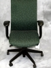 United Chair - Freestyle desk chair emerald fabric #499
