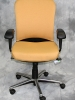 United Chair - Onyx conference / task chair with chrome base and marigold fabric #503