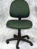 United Chair - Zing armless task chair with emerald fabric #509