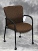 Trendway - Live II fabric stack chair patterned fabric 608