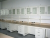 Ultra labs casework with steel storage