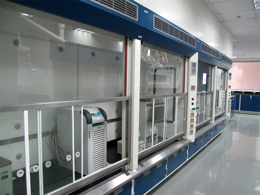 Ultra labs fume hood