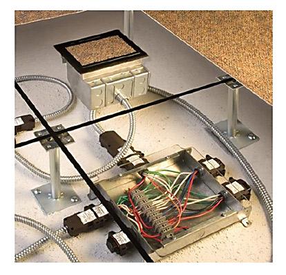 Modular wiriing system Walkerflex Legrand