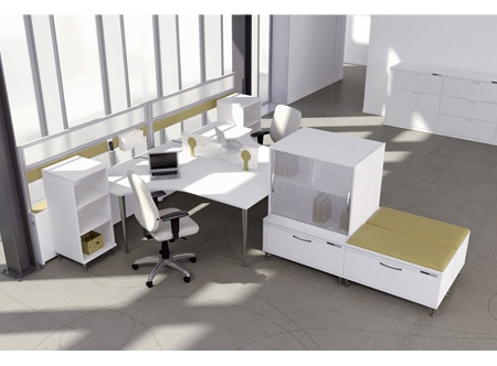 Artopex Air Line contemporary laminate casegoods