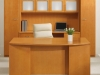 Madera series maple veneer office suite by Indiana Furniture