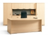 Take Off series by Artopex maple laminate office suite