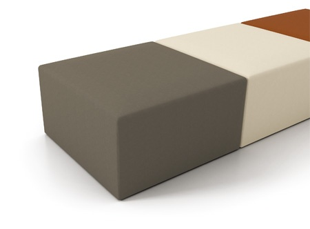 Contemporary lounge furniture - Artopex element seating