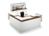 Artopex contemporary curved reception desk