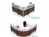 Artopex RC1 reception desks with reception tops