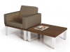 Lounge seating Artopex Lancelot platform seating
